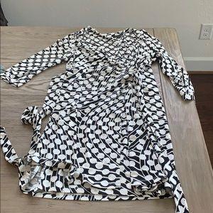 Tahari wrap dress